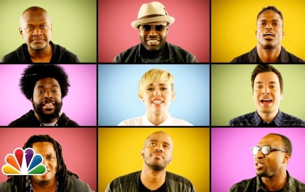 Miley & the Roots & Jimmy